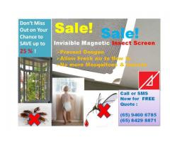 Removable Insect Screen