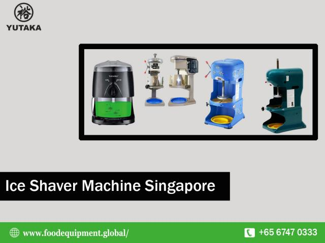 No.1 Ice Shaver Machine Supplier in Singapore