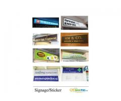 Shop Signage & Sticker Services by Singapore Customer Service Award Winning Company