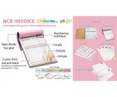 INVOICE , NCR, Receipt Book Printing