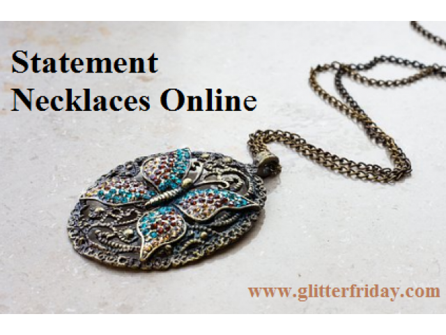 Statement Jewellery Online | Necklace, Earrings